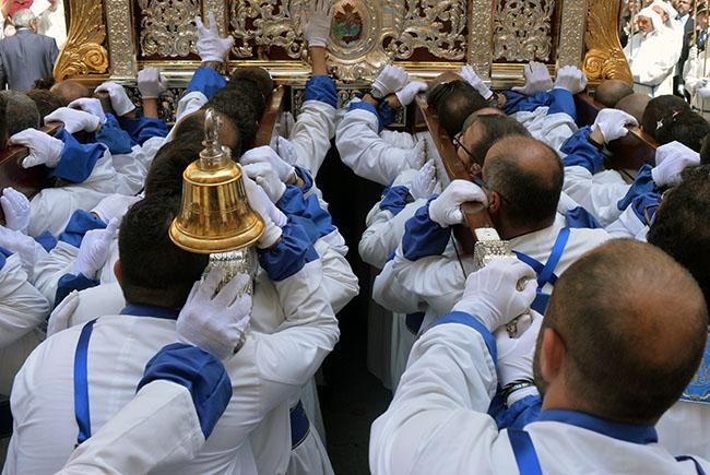 Está en la galería de fotos de la noticia: La Semana Santa al detalle, en el objetivo de Pedro Valeros